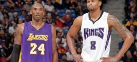 Rudy Gay trouve Kobe Bryant plus difficile à défendre que LeBron James