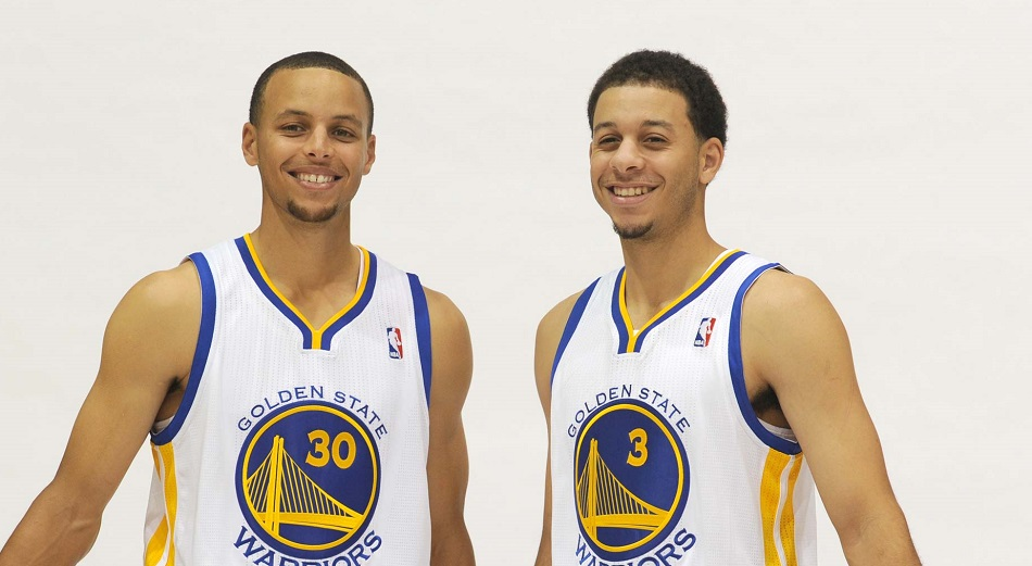 Seth Curry et Stephen Curry