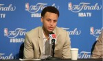 Stephen Curry conference presse