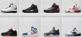 Kicks: Jordan Brand dévoile 8 paires prévues pour le printemps 2016
