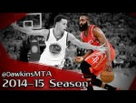 Compilation: les step-backs de James Harden cette saison