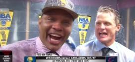 Noyé dans le champagne, Alvin Gentry promet les Finales NBA à Anthony Davis