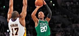 Il y a 5 ans Ray Allen prenait feu face aux Lakers