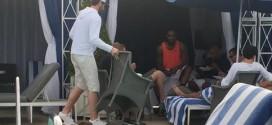 Photo : Kevin Love et LeBron James réunis pour discuter contrats à Los Angeles ?