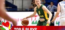 Le Top 5 de l'Eurobasket