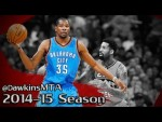 Les highlights de la saison de Kevin Durant