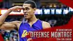 Les highlights de la saison du rookie Jordan Clarkson