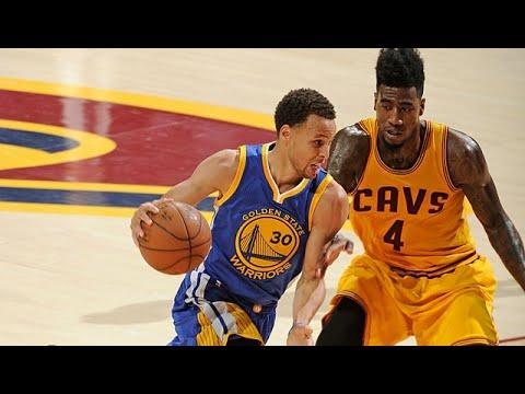 Les highlights de Stephen Curry (22 pts et 6 asts) et LeBron James (20 pts, 12 rbds et 8 asts)