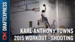 Les images des workouts de Karl-Anthony Towns, D'Angelo Russell et Willie Cauley-Stein