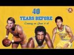Mix : 40 YEARS BEFORE (Golden State Warriors) par Clutch 23