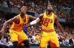 tristan thompson et lebron james