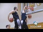 Vidéo: 5 variations de l'elbow dunk par Jordan Kilganon