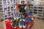Epiphany Prince, with her Doernbecher Freestyle sneaker collection. Hospital patients design the shoes with the proceeds benefiting the hospital   Photo By: Edmund J Coppa