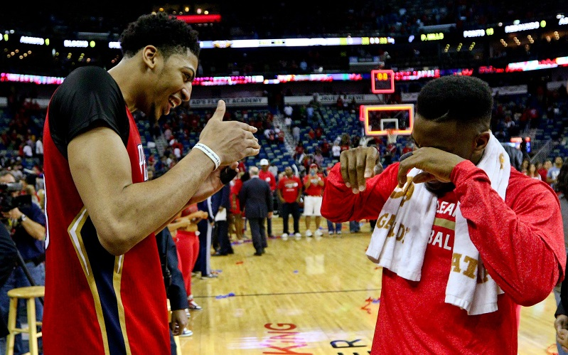 Anthony Davis et Norris Cole