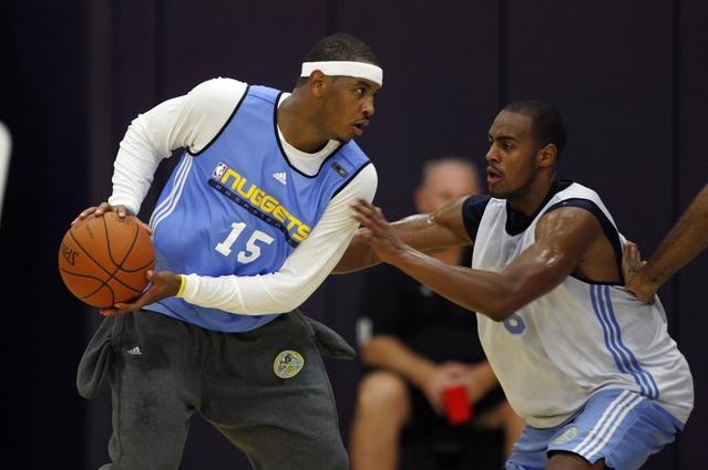 Carmelo Anthony et Arron Afflalo