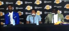 Insolite! Quand on demande aux nouveaux Lakers s'ils ont discuté avec Kobe Bryant