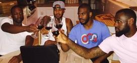 Photo du jour:LeBron James, Carmelo Anthony, Dwyane WadeetChris Paul passent leurs vacances ensemble