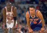 Michael Jordan et John Starks