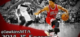 Compilation: les Step-backs de Derrick Rose en 2014-15