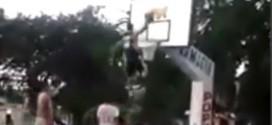Dunk de l'été ? Un dunk surréaliste en contre-attaque