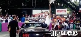Fail: quand un dunk par-dessus une voiture tourne mal