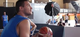 Vidéo : le circus shot de Danilo Gallinari lors du media day de l'Italie
