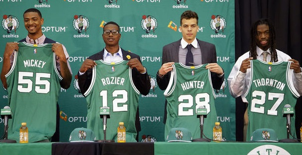 rj hunter terry rozier mickey thornton