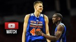Summer League: les highlights de Kristaps Porzingis (12 pts) et Cleanthony Early (18 pts)