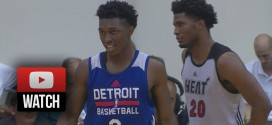 Summer League: les highlights du duel Justise Winslow (17 pts) – Stanley Johnson (14 pts)