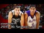 Summer League: les highlights du duel Zach LaVince (24 pts) – Jordan Clarkson (23 pts)
