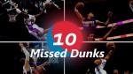 Un Top 10 des plus beaux dunks manqués des 15 dernières années