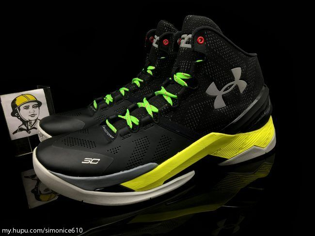 under armour curry 2 black