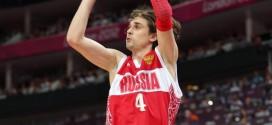 Alexey Shved forfait pour l'Eurobasket