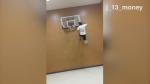 dunk contre mur