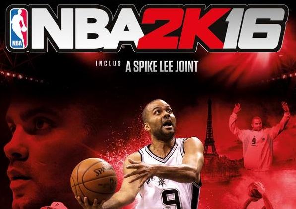 Tony Parker NBA 2k16
