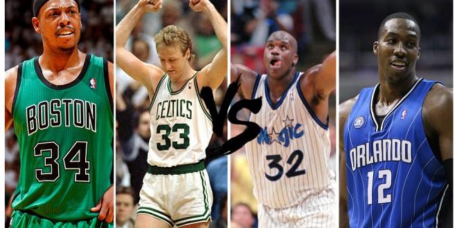 Playoffs des légendes, 1st round – choisissez entre Celtics et Magic