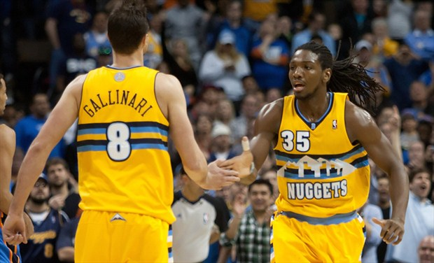 Danilo Gallinari et Kenneth faried