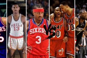 Playoffs des légendes, 1st round – choisissez entre Heat et Sixers