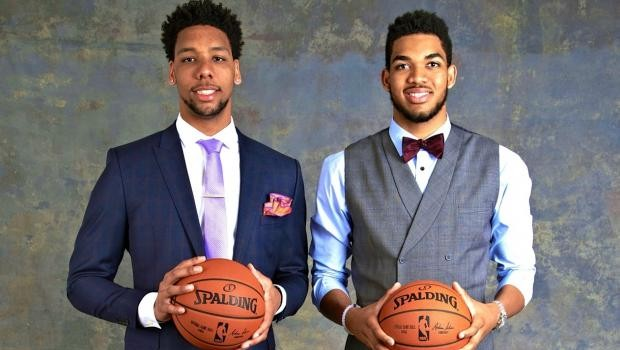 Jahlil Okafor Karl-Anthony Towns
