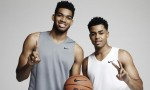 Karl-Anthony Towns et D'Angelo Russell