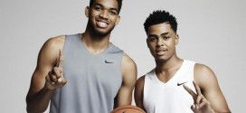 Nike signe Karl-Anthony Towns et D'Angelo Russell