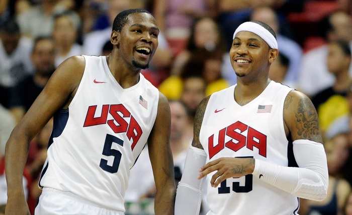 Kevin Durant et Carmelo Anthony