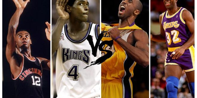 Playoffs des légendes, 1st round – choisissez entre Lakers et Kings