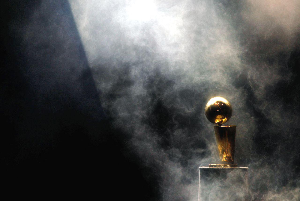 Larry-OBrien-trophy-on-black-background