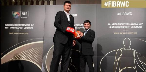 Manny Pacquiao & Yao Ming