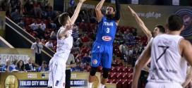 Vidéo: Andrea Bargnani, Marco Belinelli et Danilo Gallinari combinent 50 points face à la Lettonie