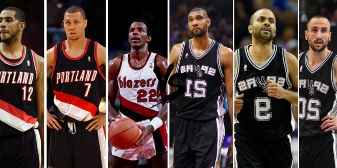 Playoffs des légendes, 1st round – choisissez entre Spurs et Trail Blazers
