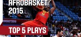 Afrobasket: le Top 5 des quarts de finale