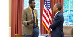 Photo : Luol Deng a rencontré Barack Obama