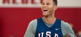 Blake Griffin vise « l'ultime honneur » de remporter l'or à Rio